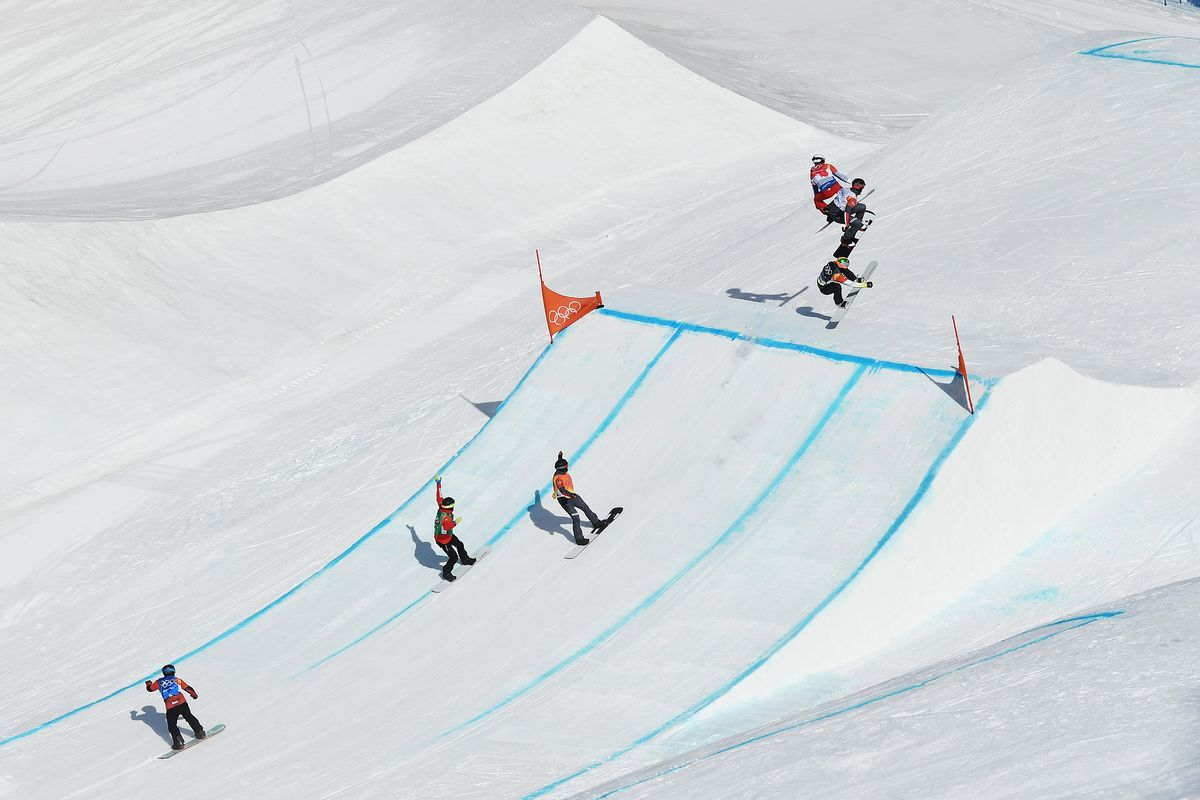 ec21a2499f Olympic results 2018  Pierre Vaultier takes gold for France in snowboard  cross for 2nd time