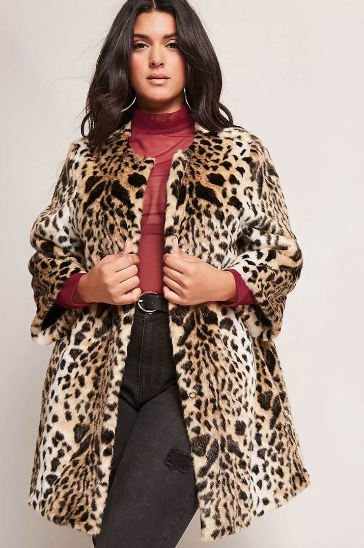 567c024b1ee9 These F21 Faux Fur Jackets Are So Effing Cool - Racked
