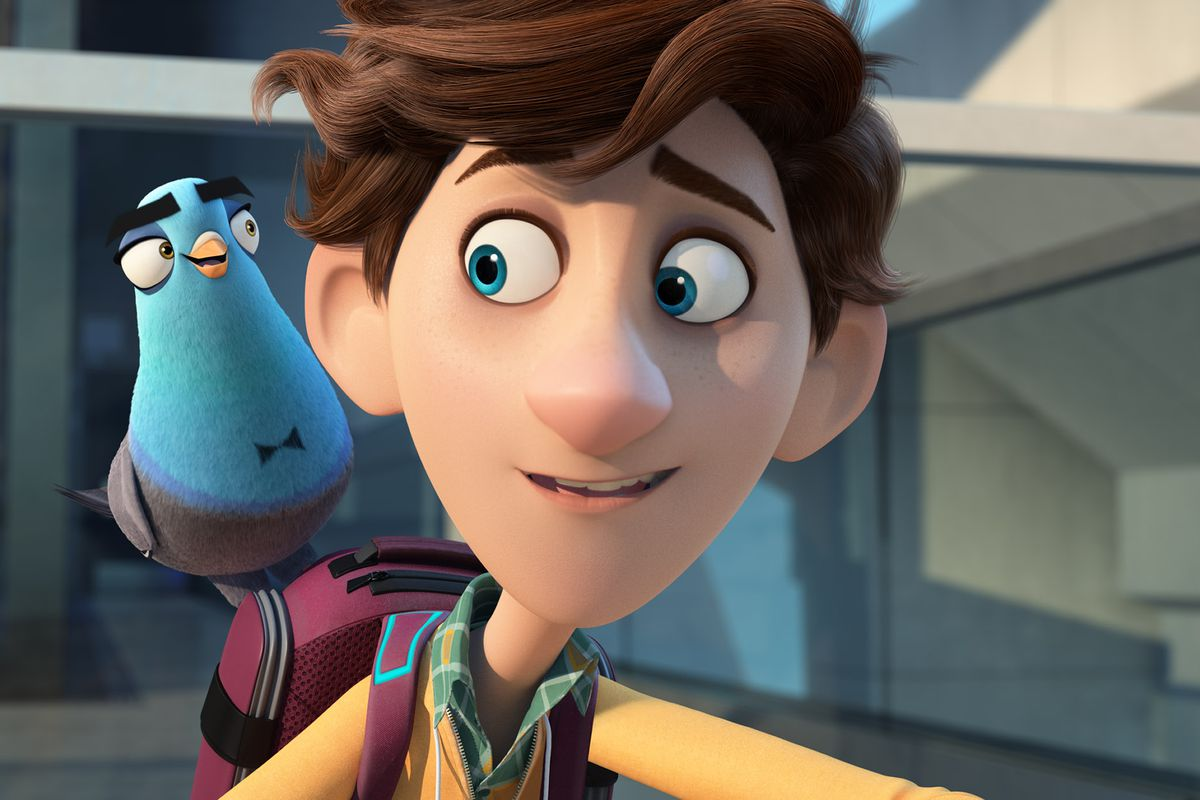 Spies In Disguise Will Smith Earns His Wings Again As The Voice Of A Secret Agent Pigeon Chicago Sun Times