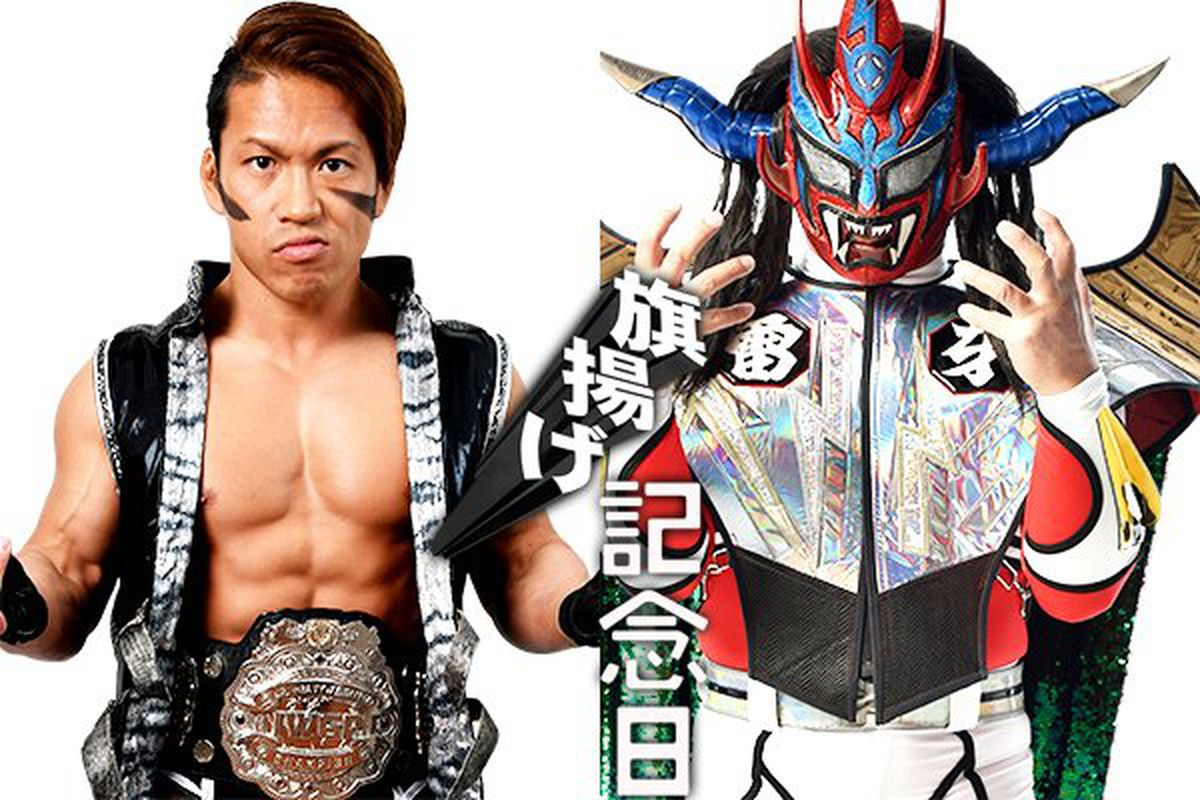 00a73b62dbf5b New Japan Pro Wrestling announces first matches for 47th Anniversary Show