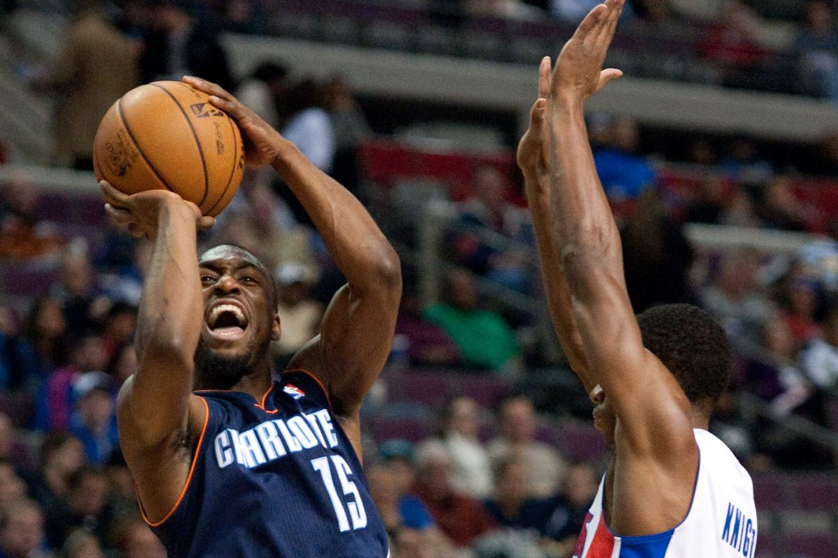 Thanks to Kemba's late fourth quarter heroics, the Bobcats had a chance to win the game in overtime.