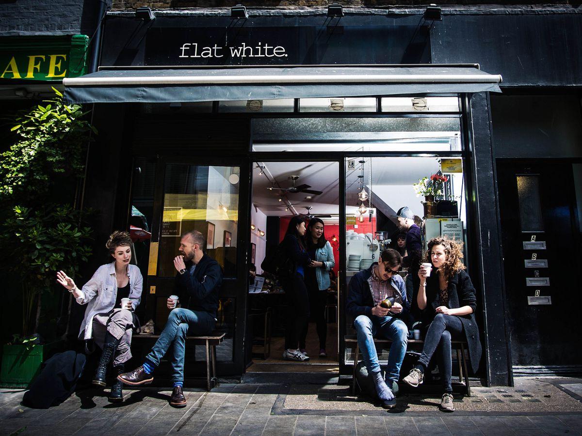 One of Soho's best restaurants, Flat White