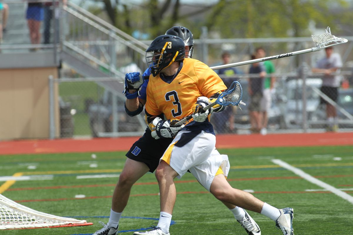 Bryan Badolato had a goal and an assist to lead the Golden Eagles in points with two in his final collegiate game.