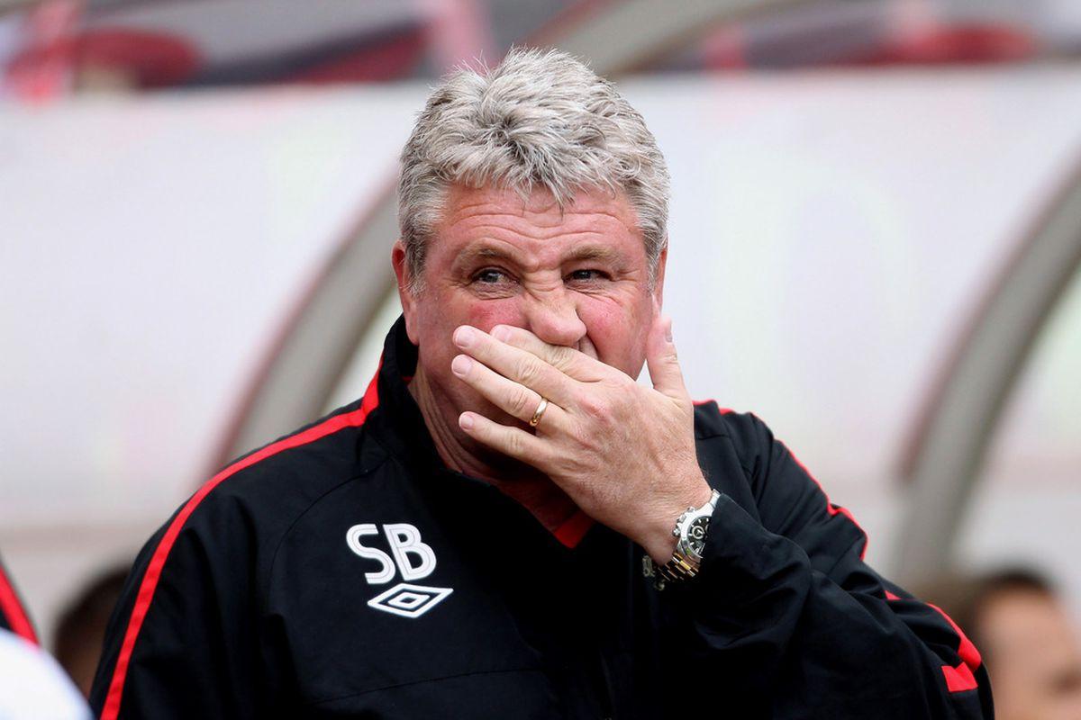 Cheer up, Stevie Bruce...