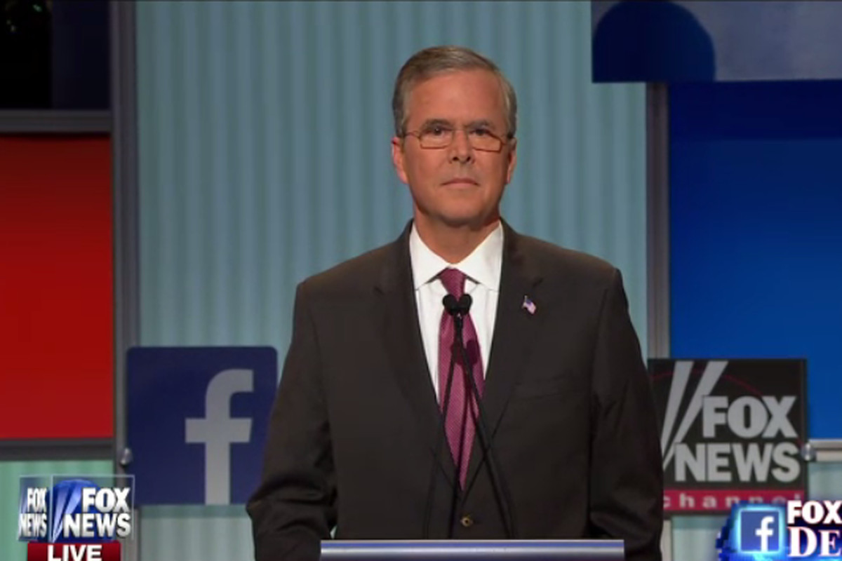 Jeb stares into the abyss.