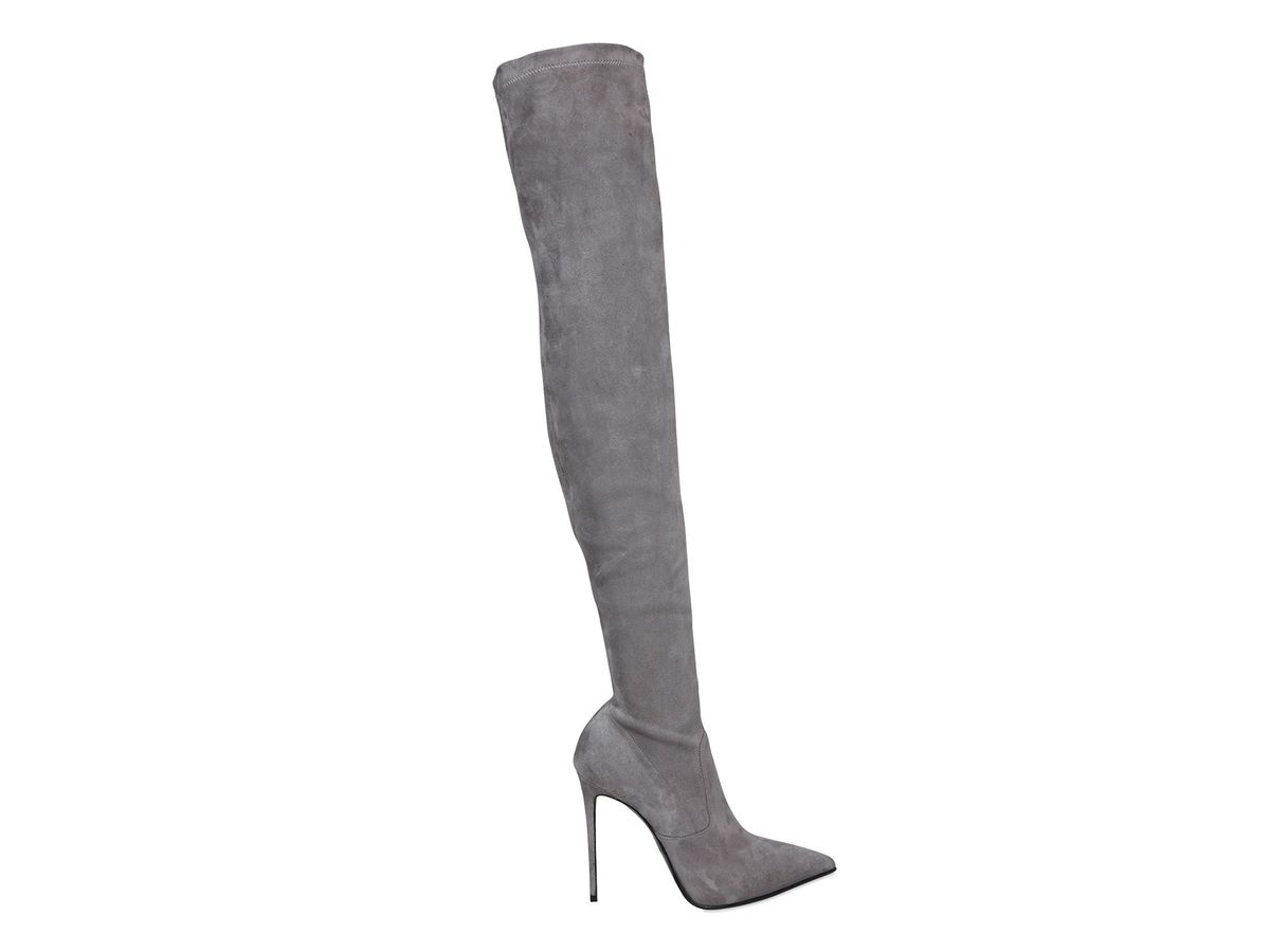 Le Silla 110mm Stretch Suede Over The Knee Boots, $1,081