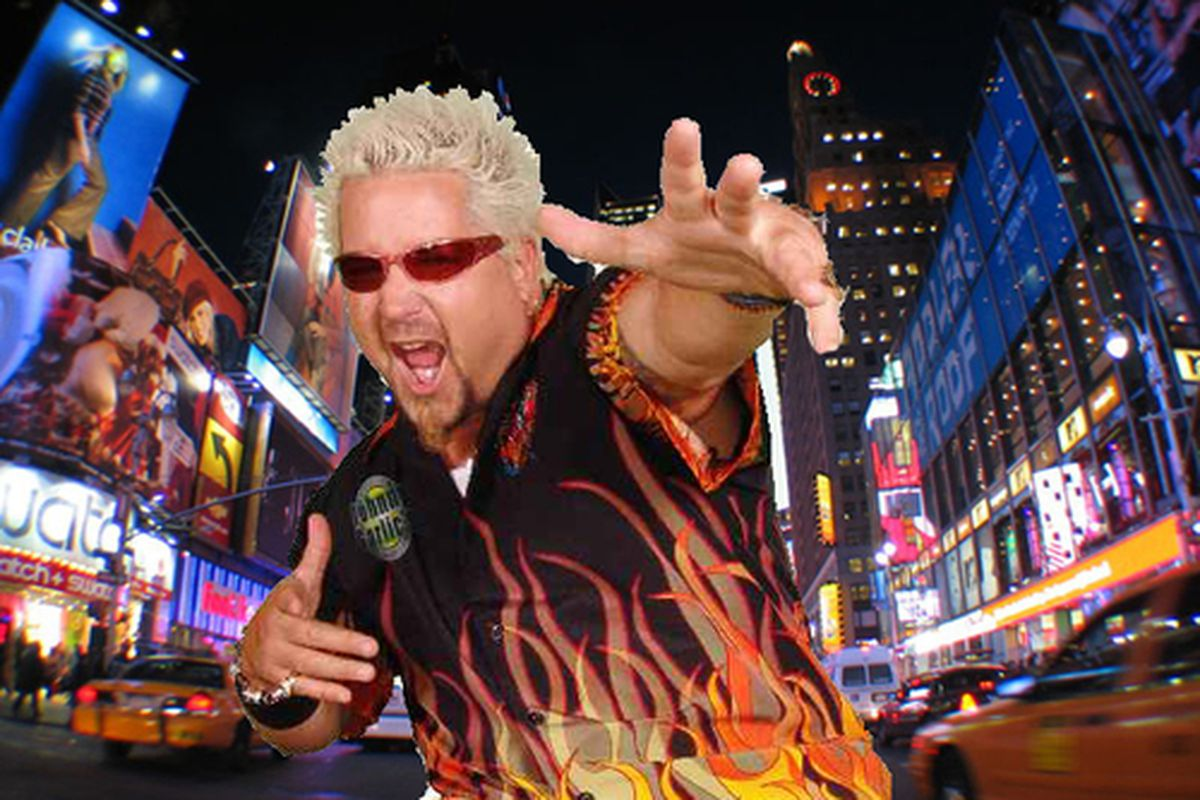 Here S A Statement From Guy Fieri About The Nyt Review Eater