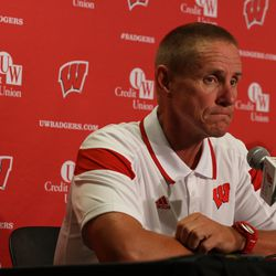 Wisconsin head coach Gary Andersen fields questions about the upcoming season.