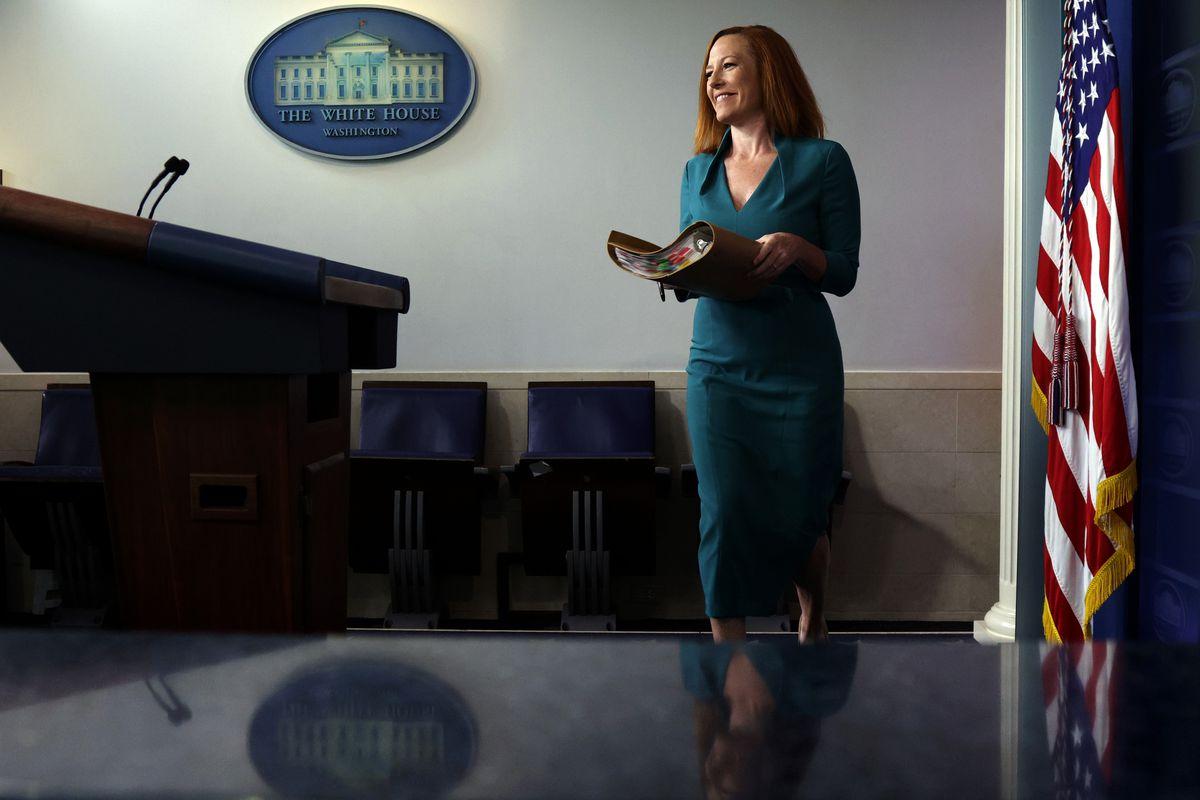 Press Secretary Psaki Holds White House Media Briefing