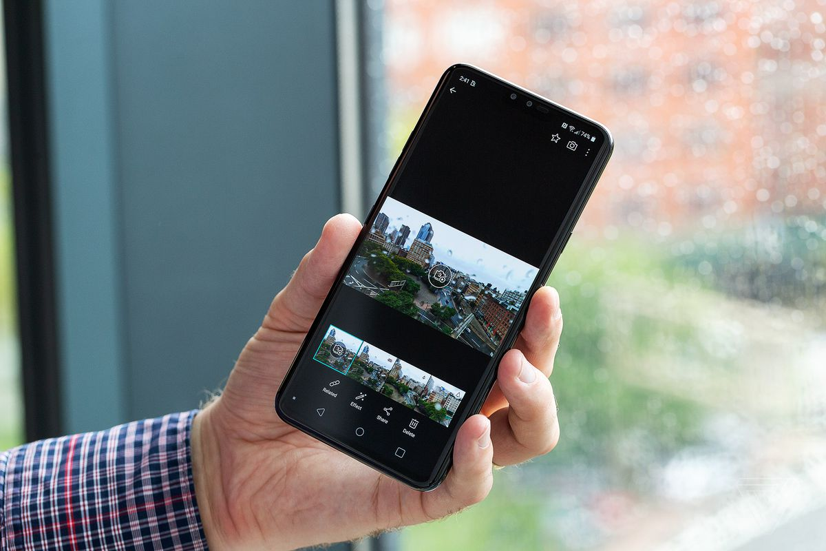 LG V40 ThinQ review: five cameras to change your perspective