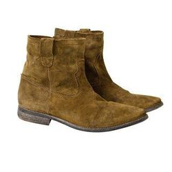 Suede Boots, $199