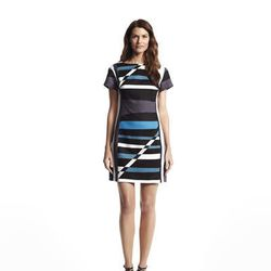 Fitted boatneck dress, $70