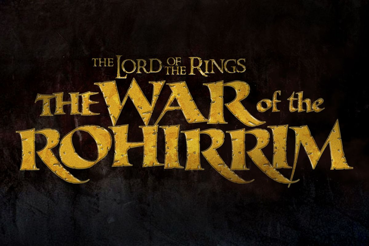 The Lord of the Rings: War of the Rohirrim title treatment