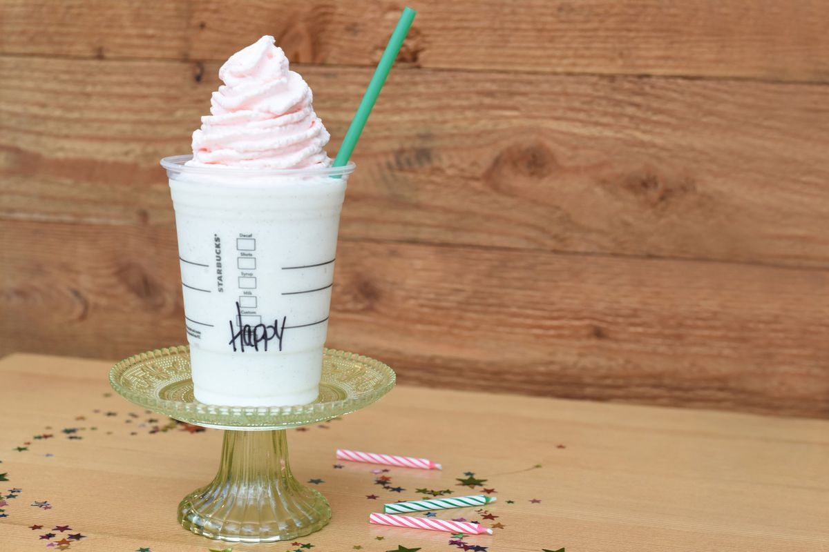 Starbucks Birthday Cake Frappuccino Is Only Available For Five Days