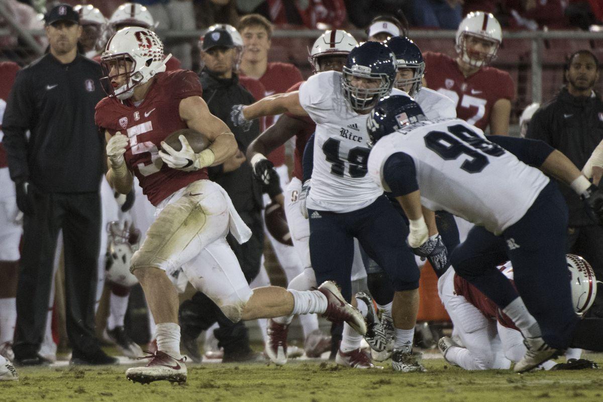 NCAA Football: Rice at Stanford