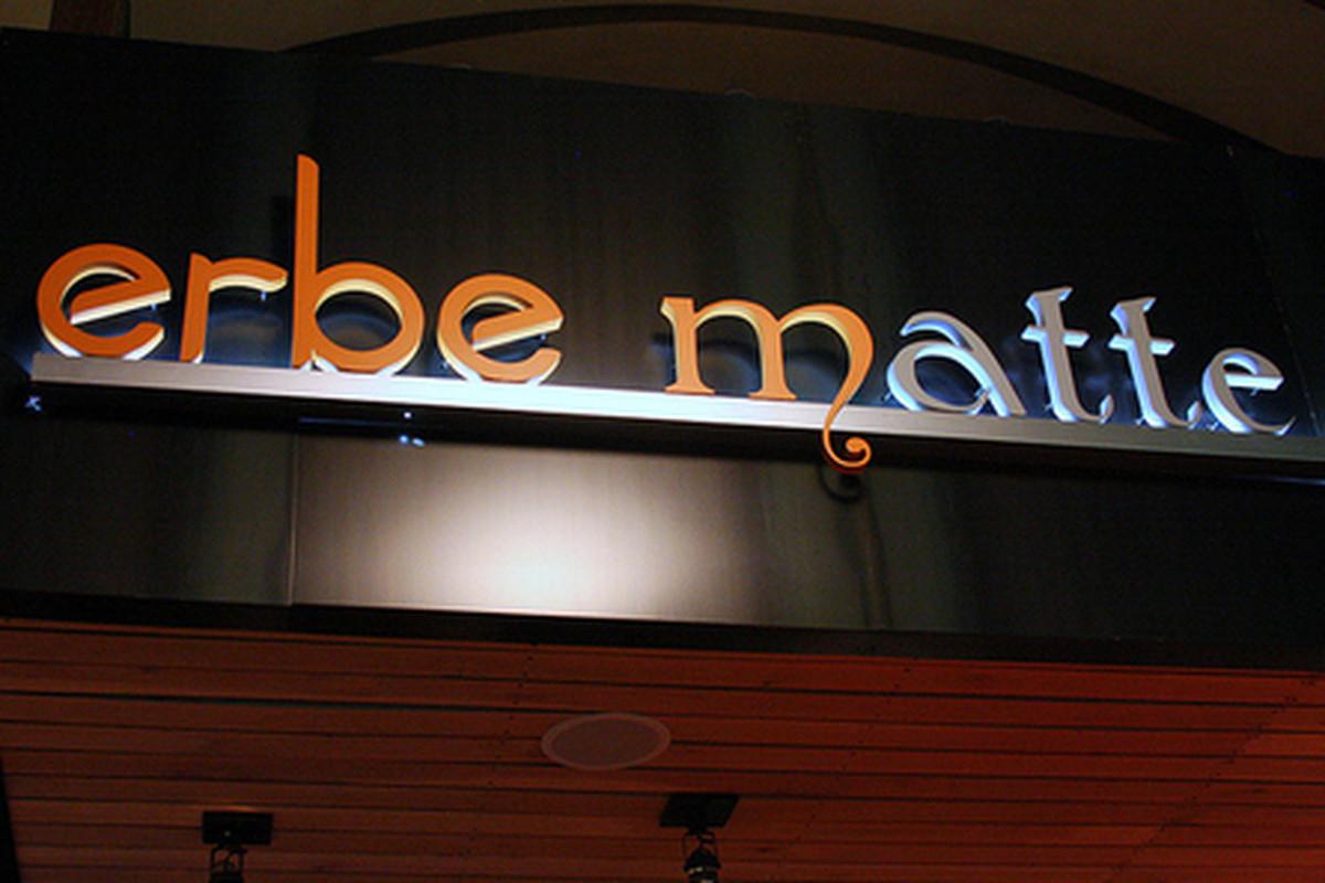Outside Erbe Matte, Beverly Hills