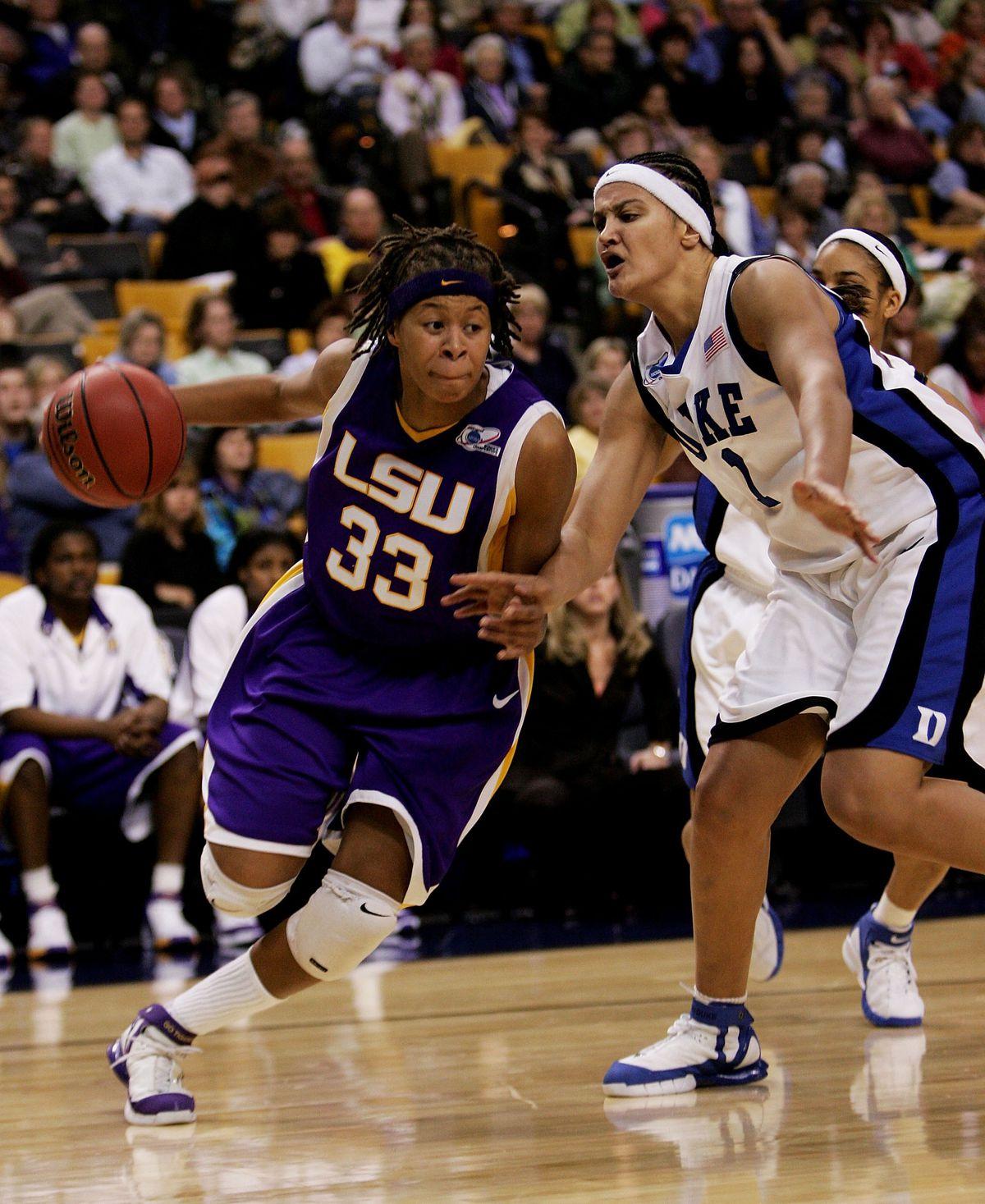Louisiana State University Lady Tigers v Duke Blue Devils