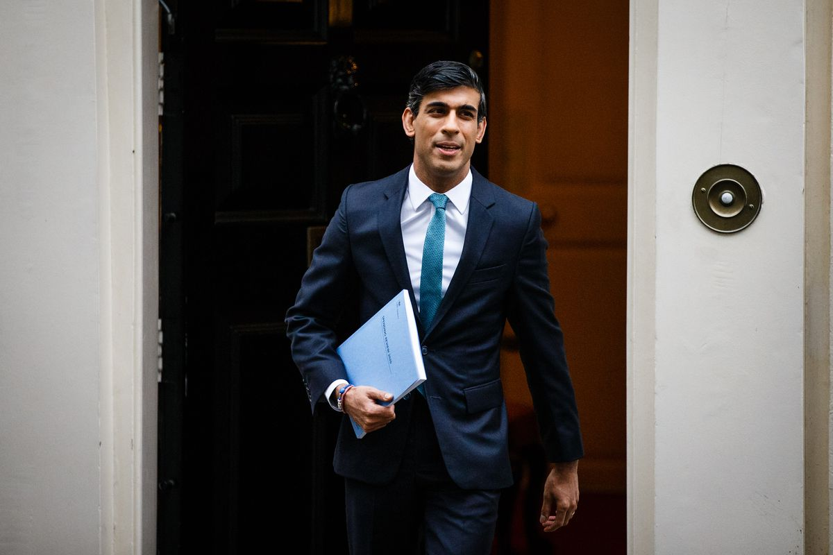 Chancellor Of The Exchequer Rishi Sunak Announces One-Year Spending Review