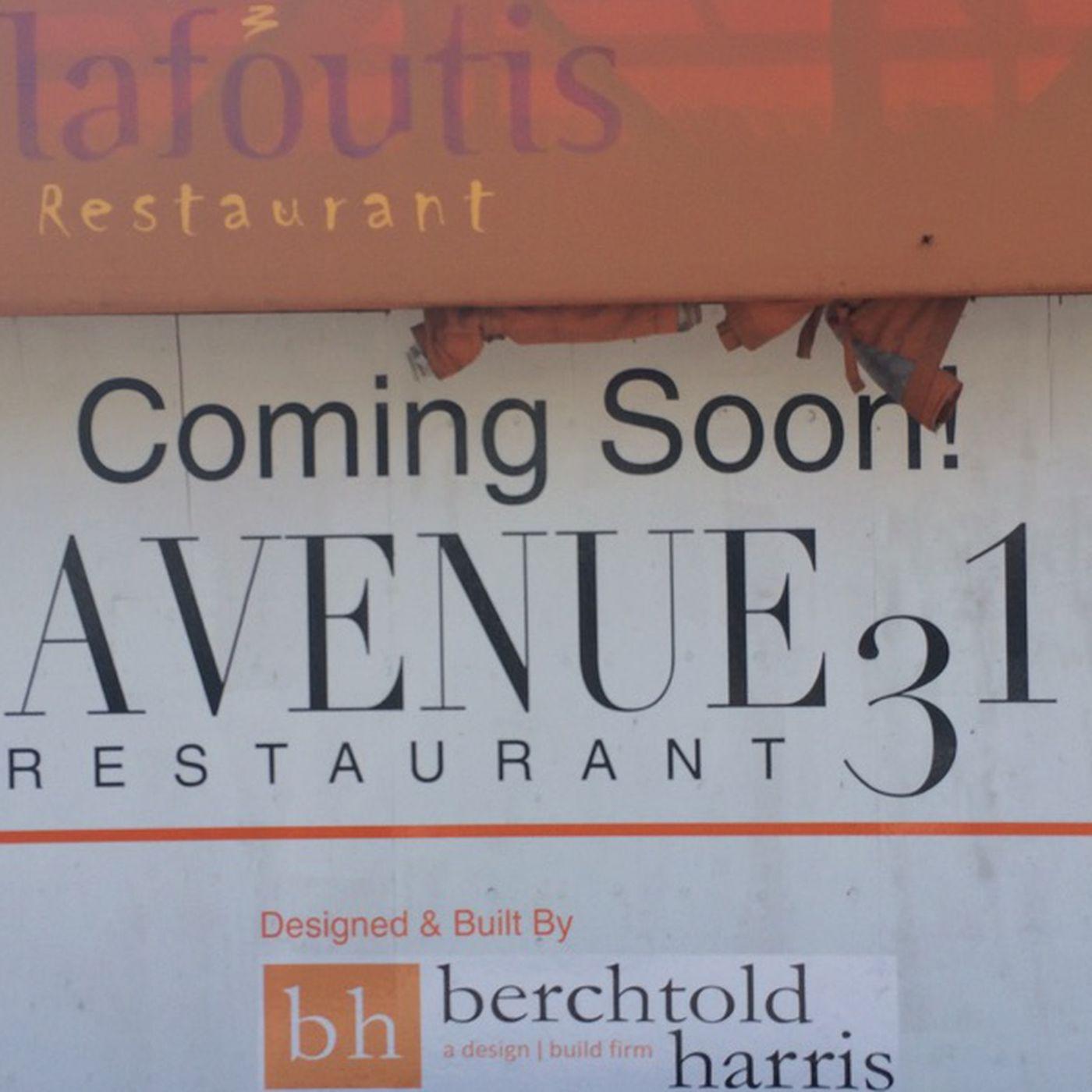 Le Clafoutis Turns Into Monaco-Backed Cali-Med Restaurant Avenue 31 ...