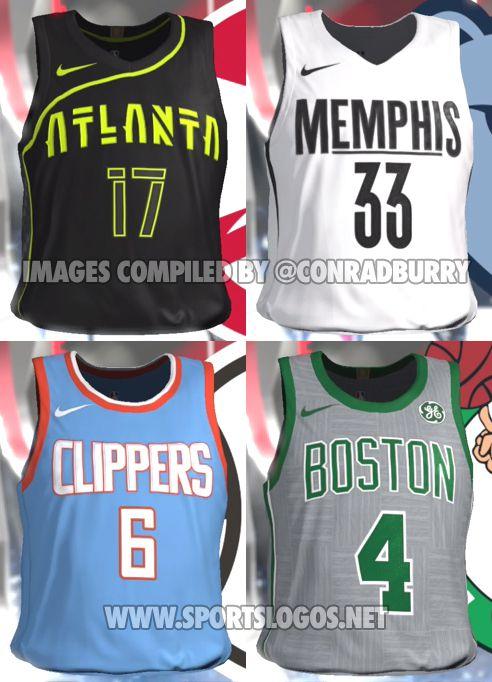 low priced f3e67 608be NBA2K18 leaks Celtics' City Edition uniform - CelticsBlog