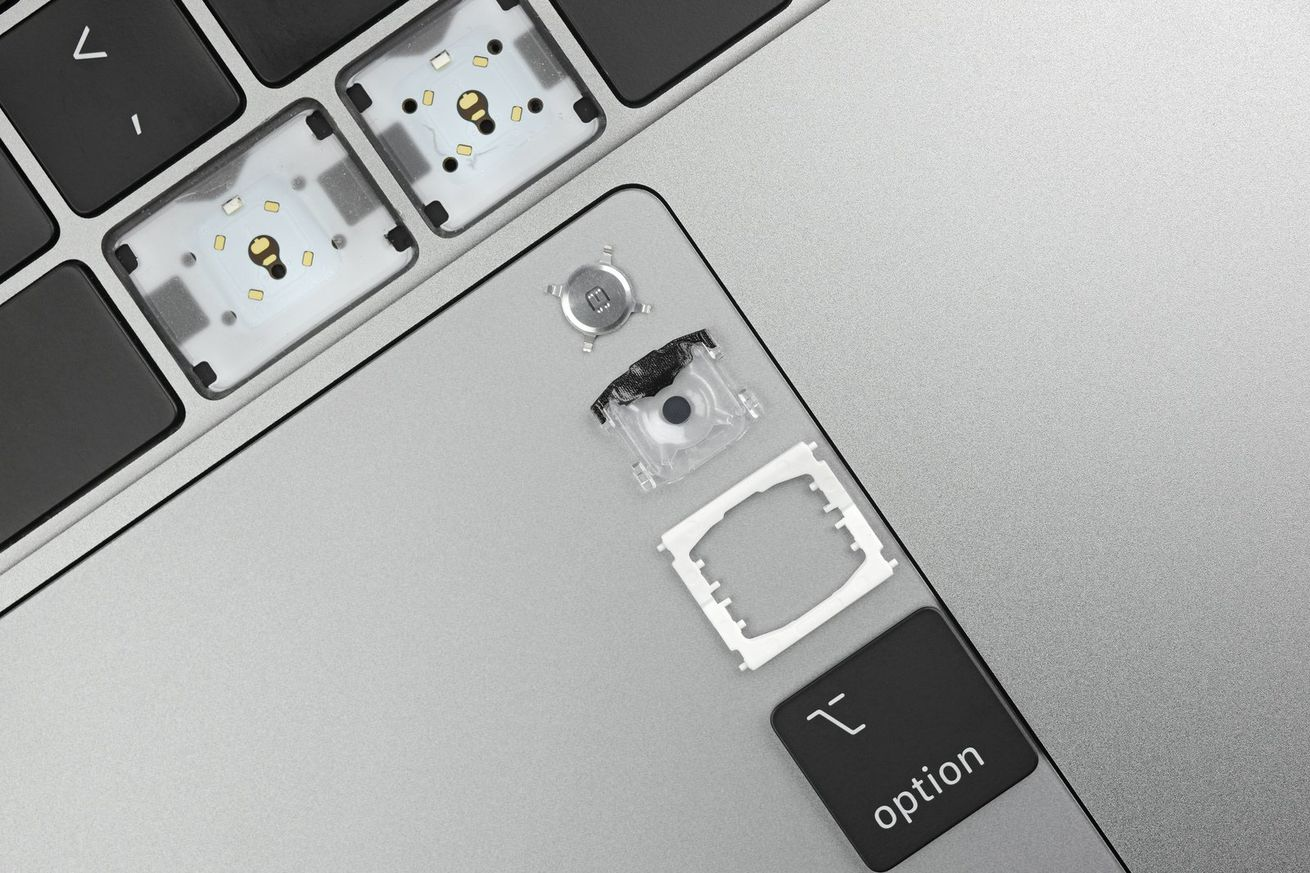 apple s keyboard material changes on the new macbook pro are minor at best