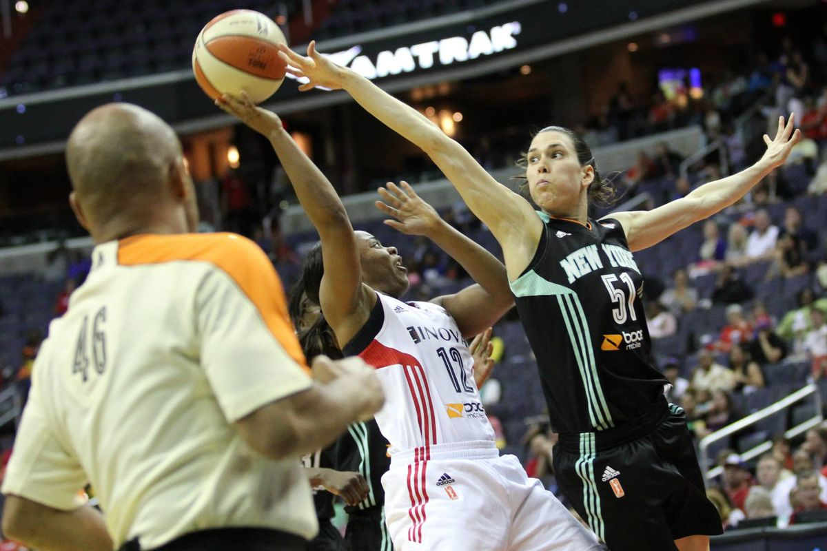 The New York Liberty and Washington Mystics have already against each other once, with Washington winning.