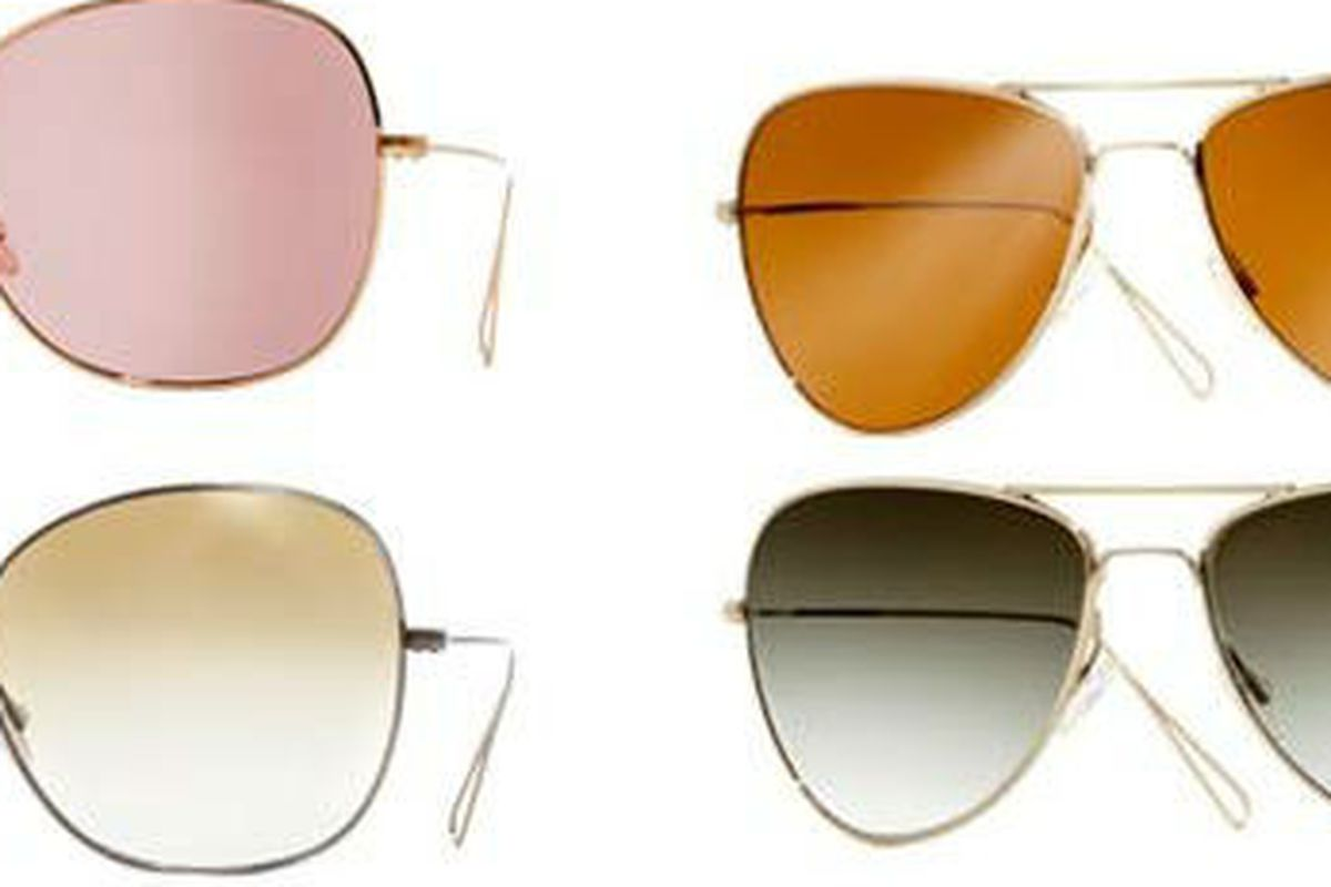 a2a39d637f97 Isabel Marant Does Rose-Colored Sunglasses for Oliver Peoples - Racked