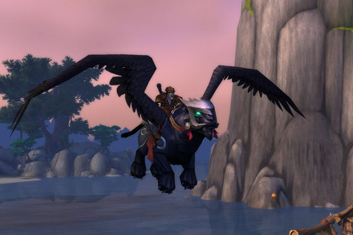 Water walking coming to World of Warcraft mounts in 8 2: Rise of
