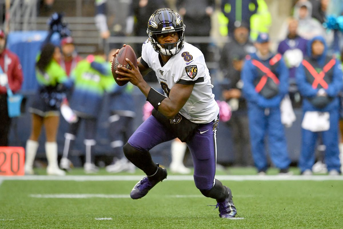 Image result for ravens seahawks 2019