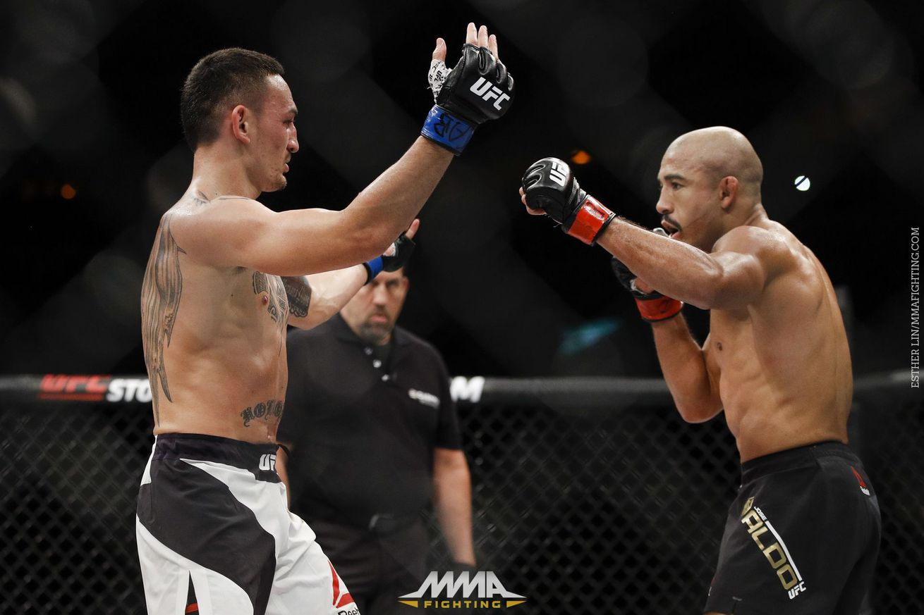 Max Holloway says he realized Jose Aldo 'don't want to fight' when he taunted him at UFC 212