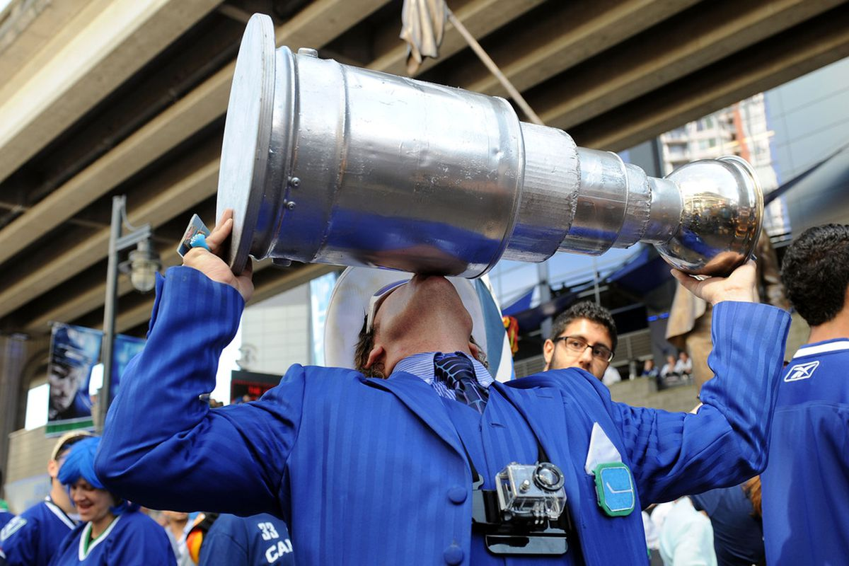We could see the Cup tonight. As for me, I hope we don't.