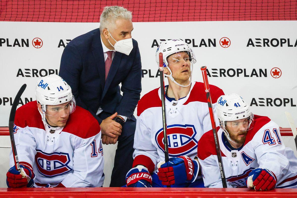 NHL: Montreal Canadiens at Calgary Flames