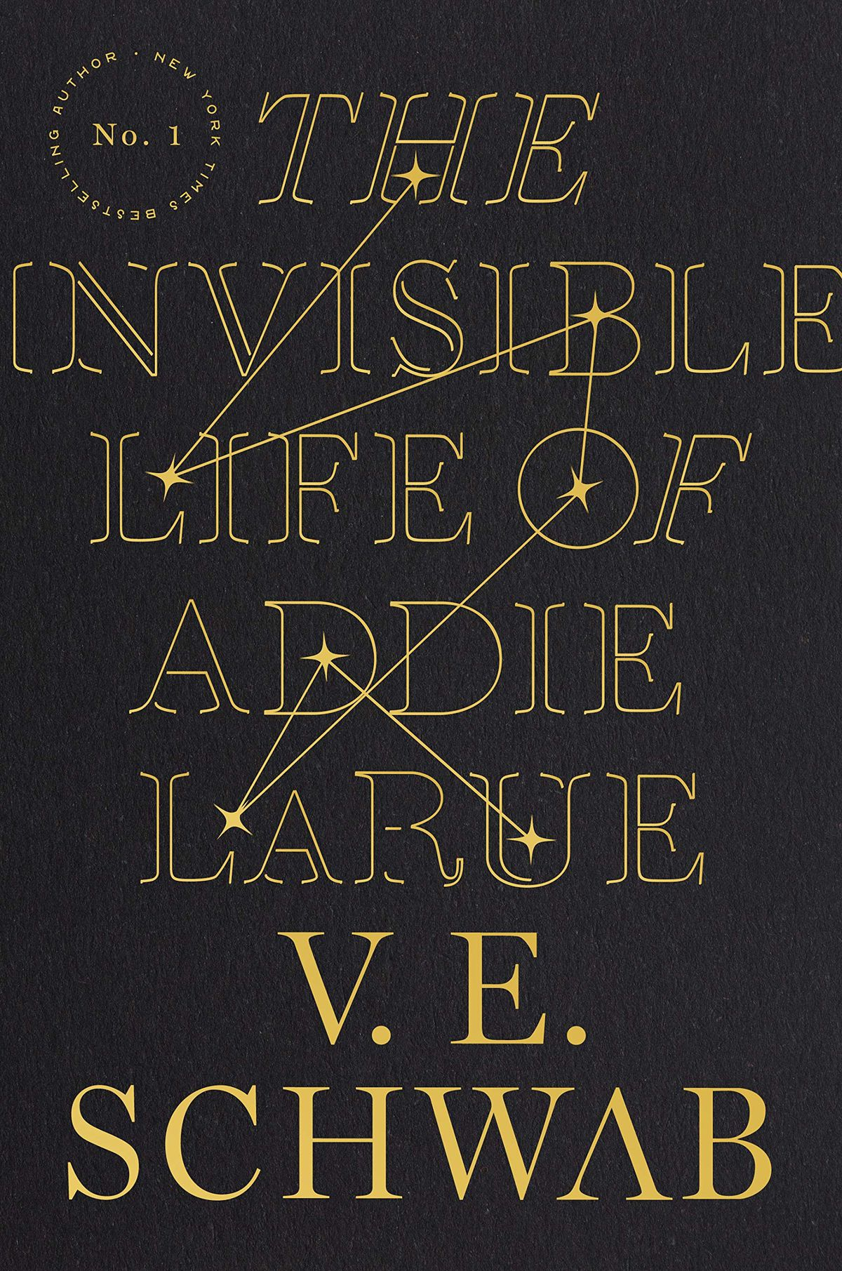 The Invisible Life of Addie LaRue by V.E. Schwab cover