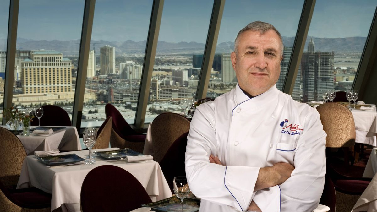 Andre Rochat Vegas First Celebrity Chef Reflects On 35