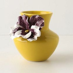 """<a href=""""http://www.anthropologie.com/anthro/product/home-room/073884.jsp?"""">Pretty Pansy Vase</a>, $18 at Anthropologie"""