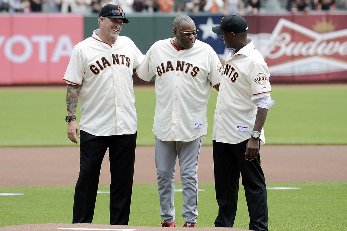 Remember when Jason Christiansen got into a fight with Barry Bonds in 2005 and then Barry had to get another knee surgery? What? No, I'm not still bitter.