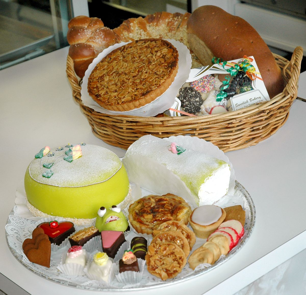 Swedish Bakery offers both homemade breads as well as cookies and sweets.   File photo