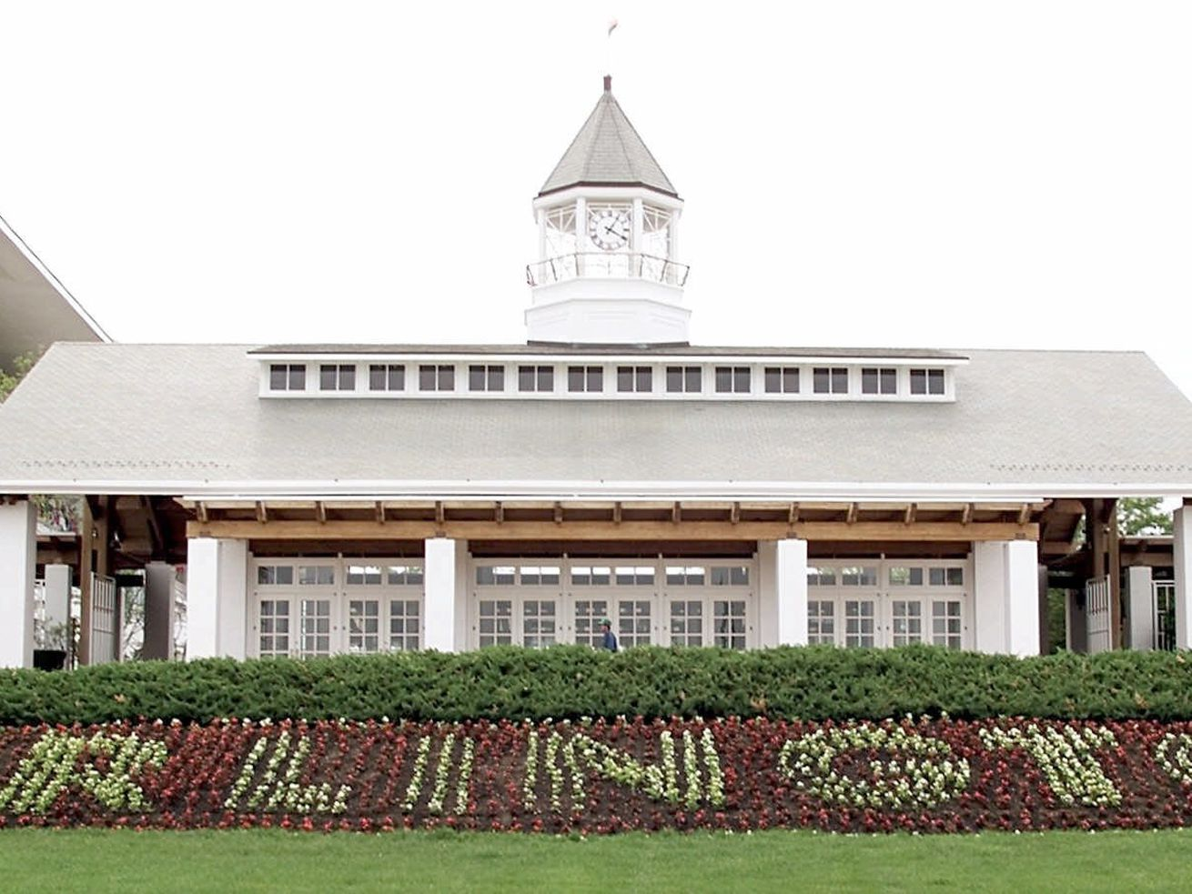 Arlington International Racecourse, pictured in 2000. The track's corporate owner Churchill Downs is putting it up for sale.