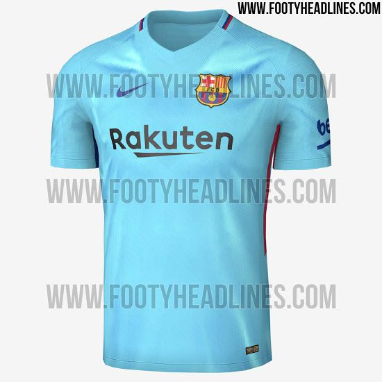 competitive price 917a5 181c7 Barcelona 2017-18 away kit leaked - Barca Blaugranes