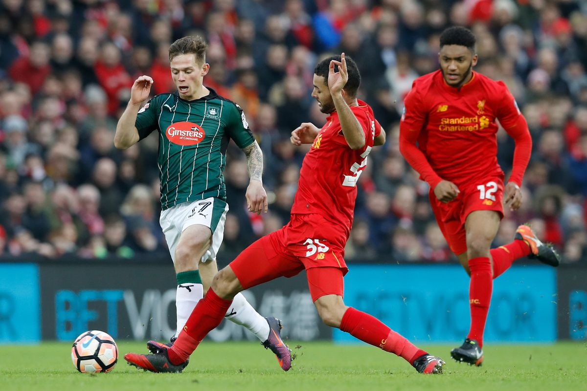 Liverpool v Plymouth Argyle - Emirates FA Cup - Third Round - Anfield