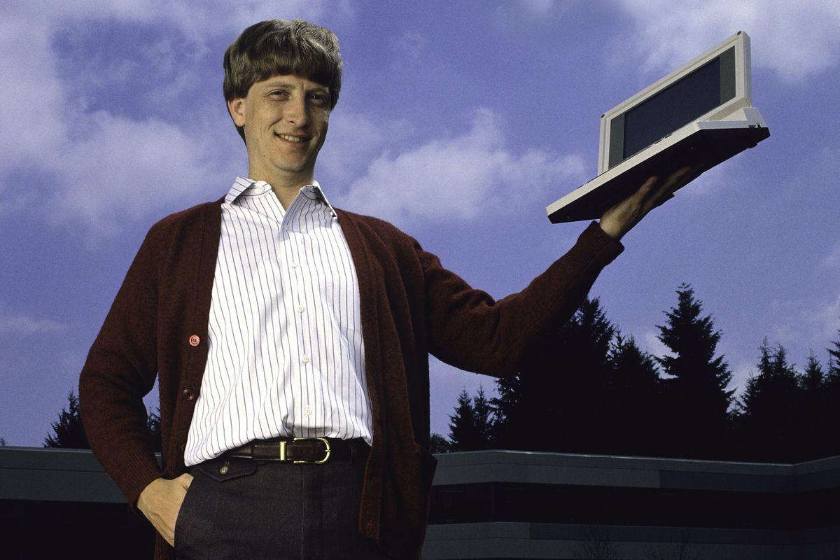 Bill Gates in 1986