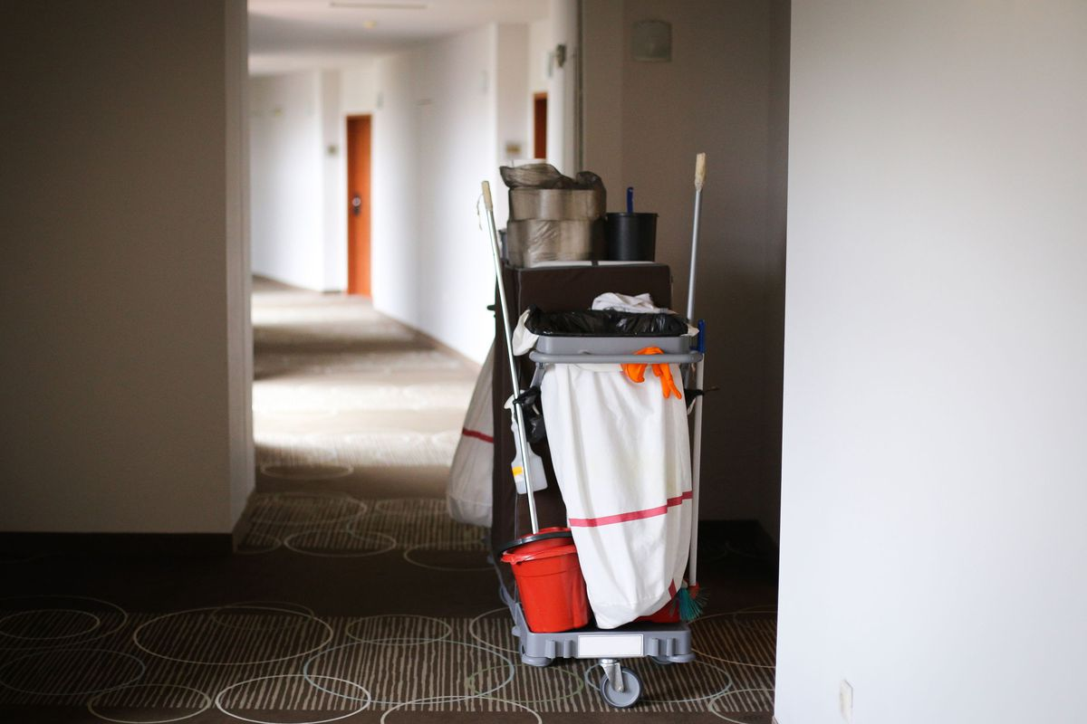 Cleaners have been on the front lines of workers during the coronavirus outbreak.