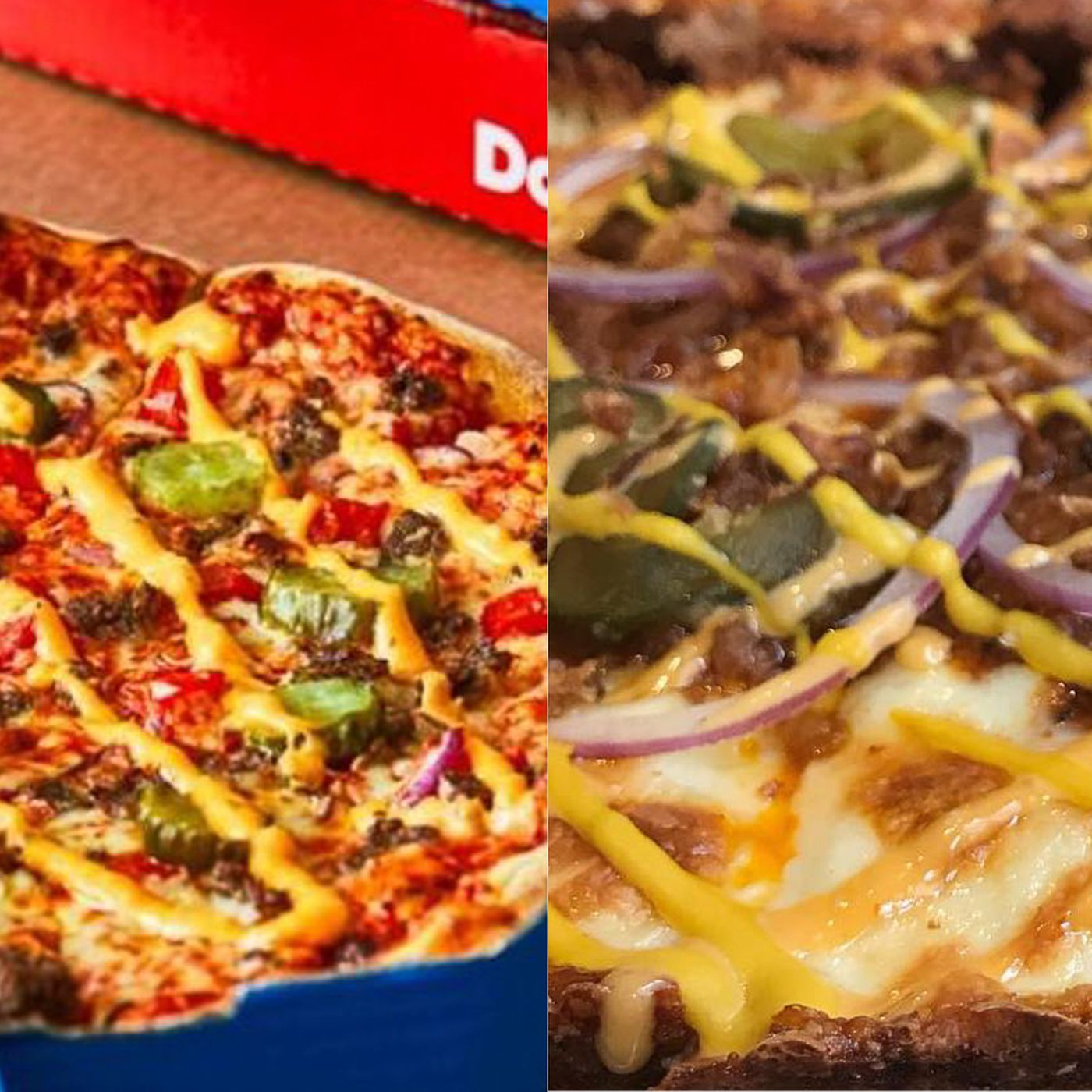 Dominos Cheeseburger Pizza Is Inspired By London Restaurant