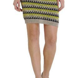 """<a href=""""http://www.barneyswarehouse.com/on/demandware.store/Sites-BNYWS-Site/default/Product-Show?pid=501545610&cgid=womens&index=30"""">SUNO Diamond Mini Skirt, was $240</a>, now $60"""