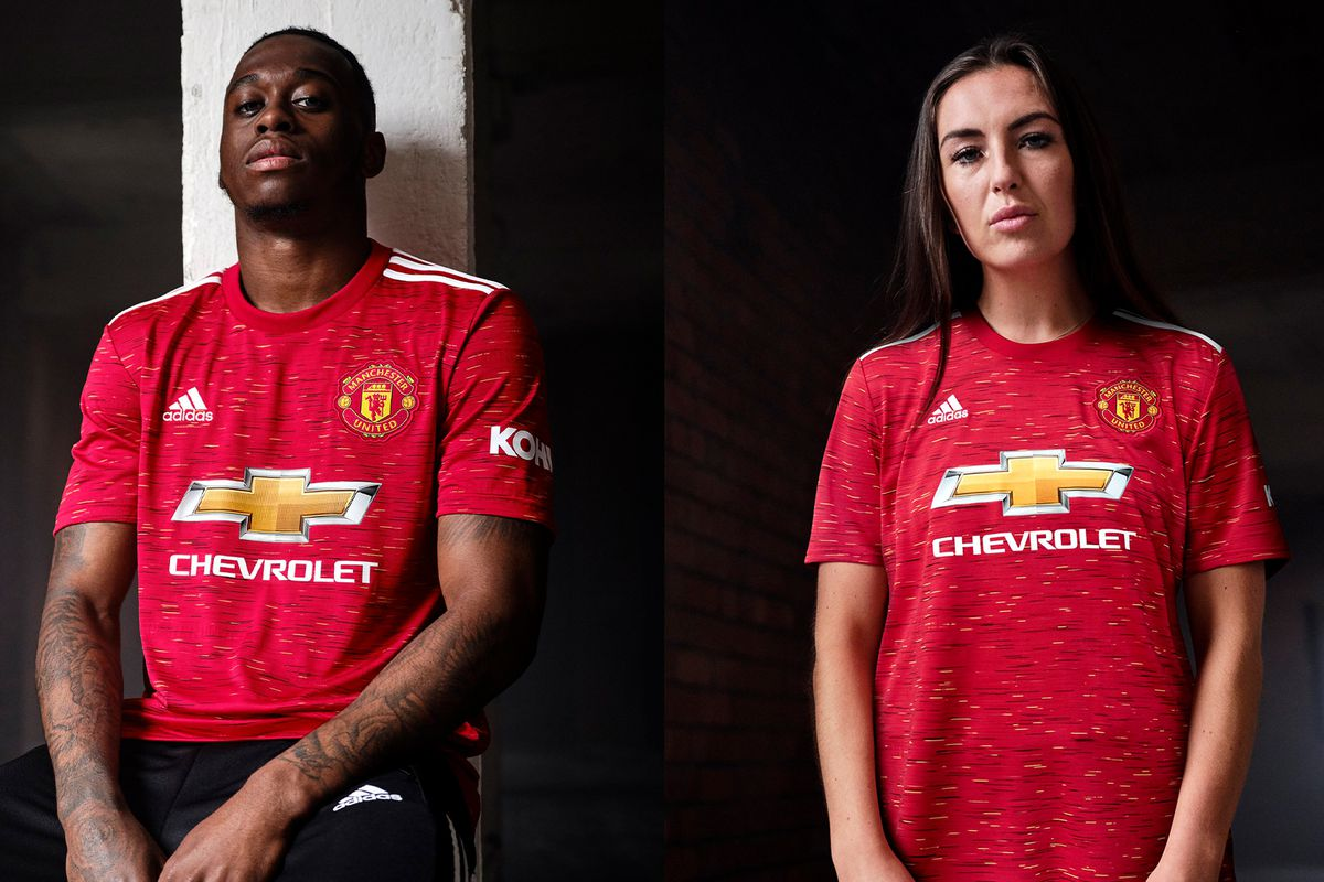 Manchester United unveil new 2020-21 home kit - The Busby Babe