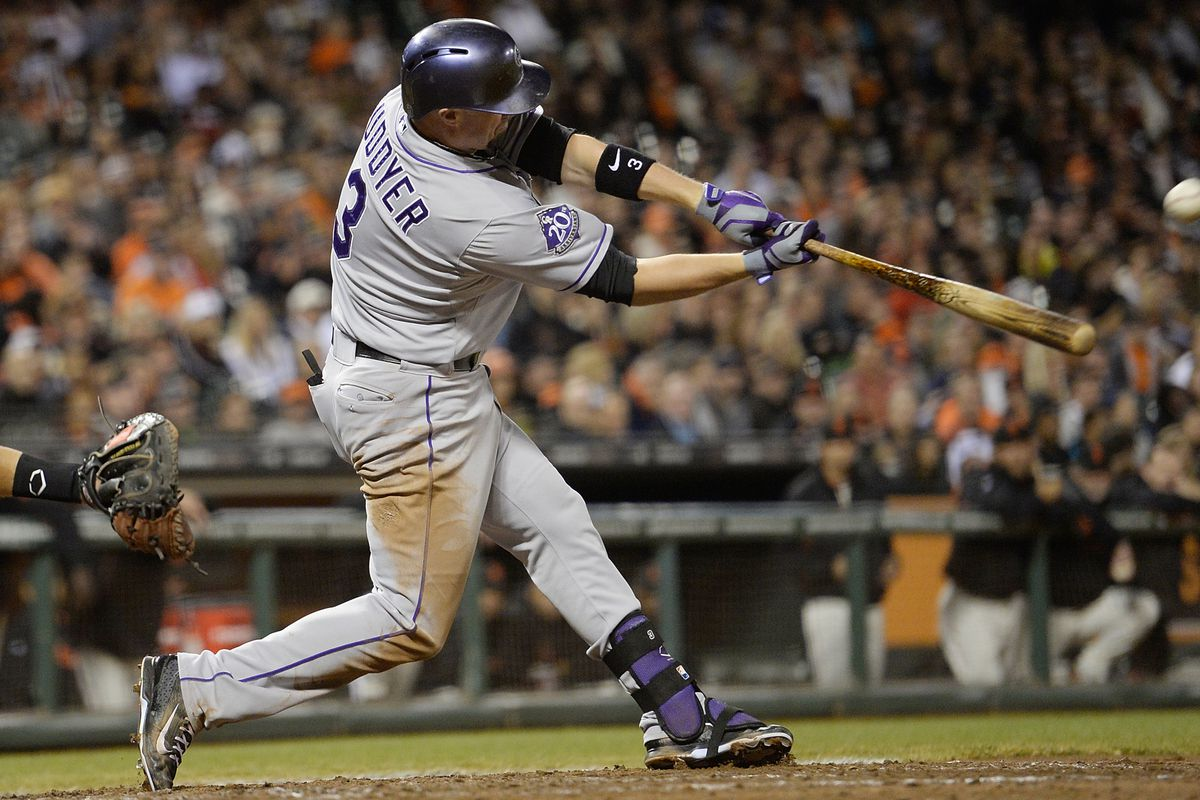 Michael Cuddyer hit a pair of home runs in the Rockies 9-8 win over the Giants.