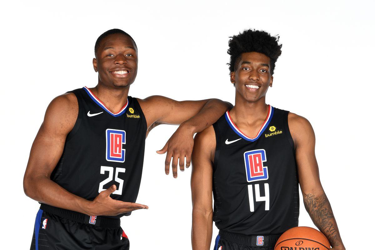 LA Clippers Introduce Draft Picks - Portraits
