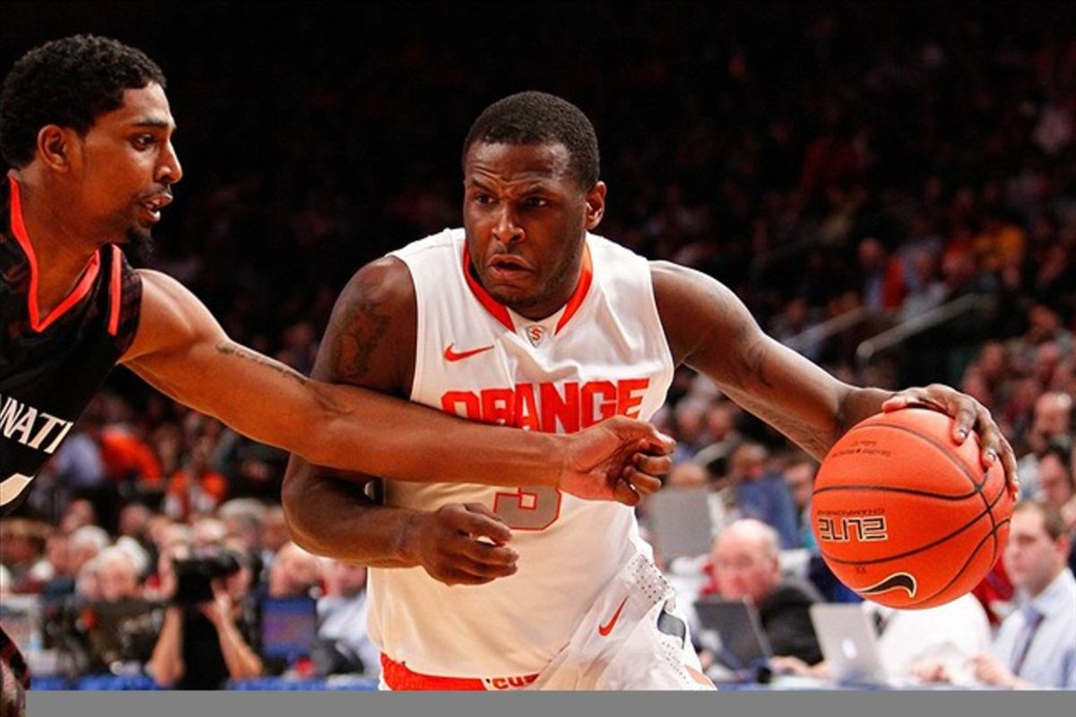 yracuse Orange guard Dion Waiters was selected No. 4 overall in the 2012 NBA Draft. Debby Wong-US PRESSWIRE