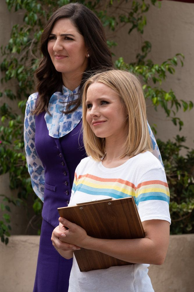 janet and eleanor in the good place season 3 finale