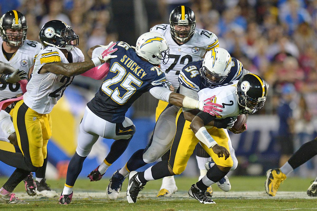 size 40 66d09 6db30 Steelers vs. Chargers 2015 final score: Mike Vick leads ...
